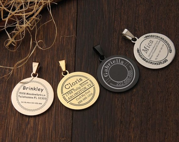 The Most Charming Pet Tags You'll Find on Etsy!