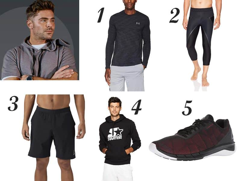 Zac Efron's Favorite Workout Essentials