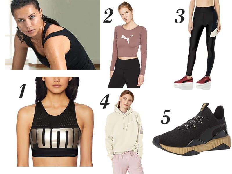 Adriana Lima's Workout Essentials