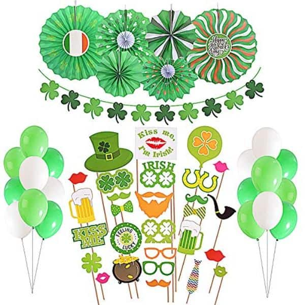 Saint Patrick's Day-Themed Party Essentials