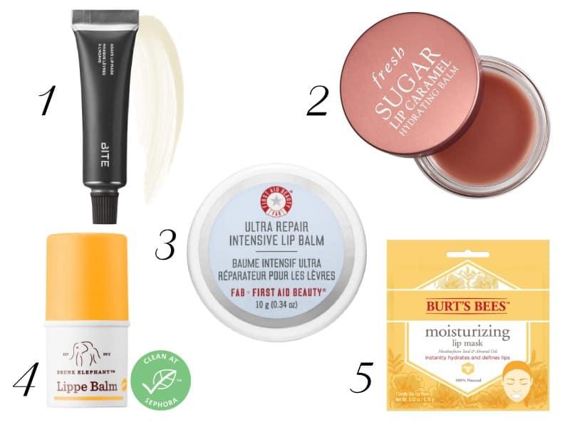 10 Best Lip Masks and Lip Balms