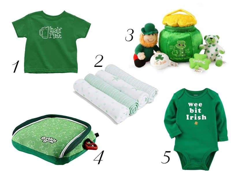 St. Patrick's Day Themed Baby Essentials