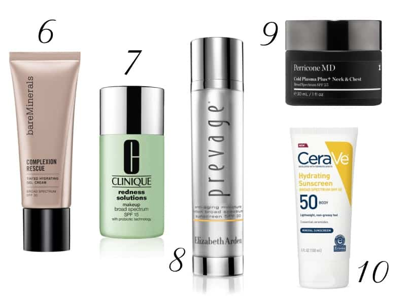 The 10 Best SPF Products According to Consumers