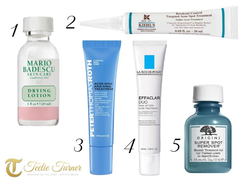 Say Goodbye to Pimples Forever: 10 Best Acne Spot Solutions
