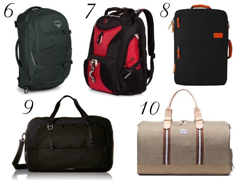 10 Best Travel Bags and Luggage for Your Memorial Day Weekend Getaway