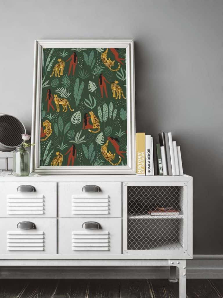 King of the Jungle Inspired Home Accessories for Summer