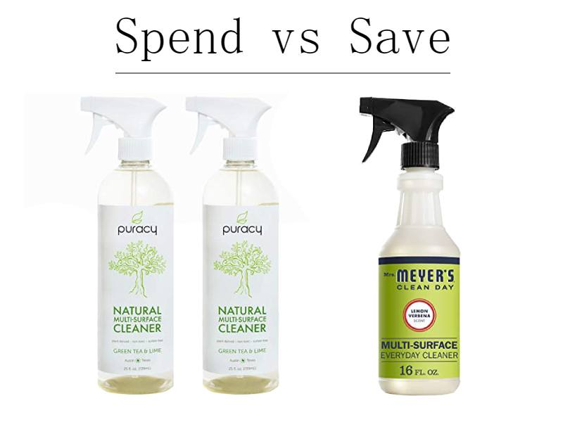 Spend vs Save: Everyday Home Essentials