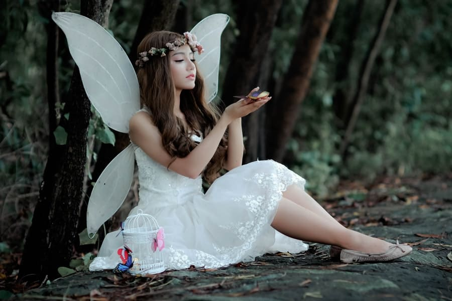 Fairy Themed Halloween Costumes and Casual Wear