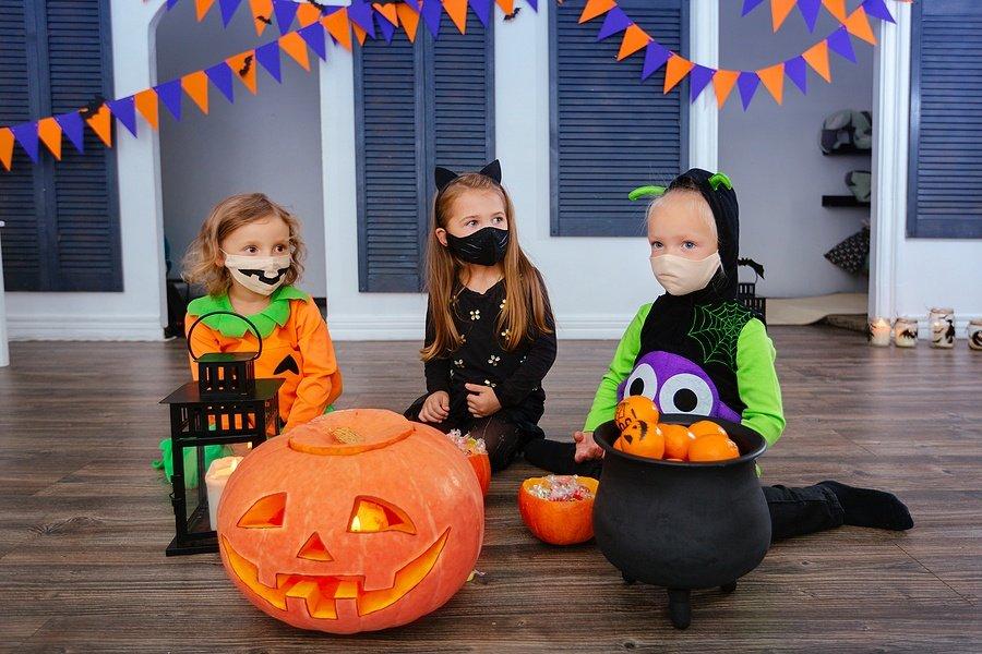 Fun Kids Face Masks for Halloween