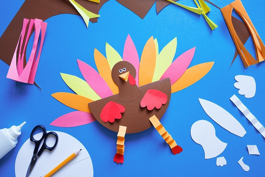 10 Fun Thanksgiving Crafts for Kids to Keep Them Busy Indoors