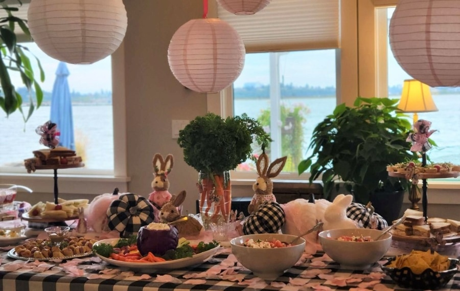 Creating a Magical Rabbit Tea Party for Fall